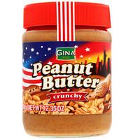 Арахисовое паста Gina Peanut butter crunchy 350 g