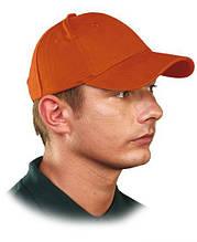 Кепка Люкс, 6-панельная, оранжевая