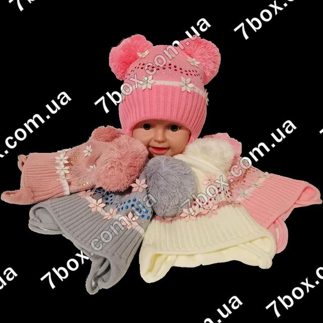 Детские вязанные шапки