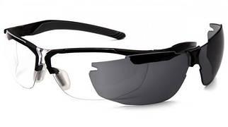 Стрелковые очки Pyramex Flex Zone (серая + прозрачная линзы)