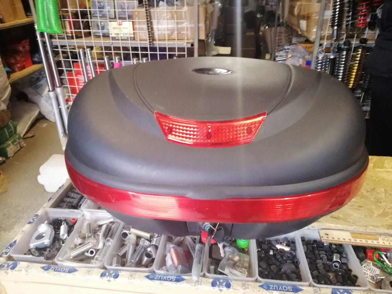 Кофр для мотоцикла (багажник) TVR на два шлема