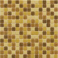 Мозаика стеклянная 2х2см микс MDA545