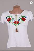 Вышиванка  футболка  женская  трикотаж 337 ( С.Е.С.)