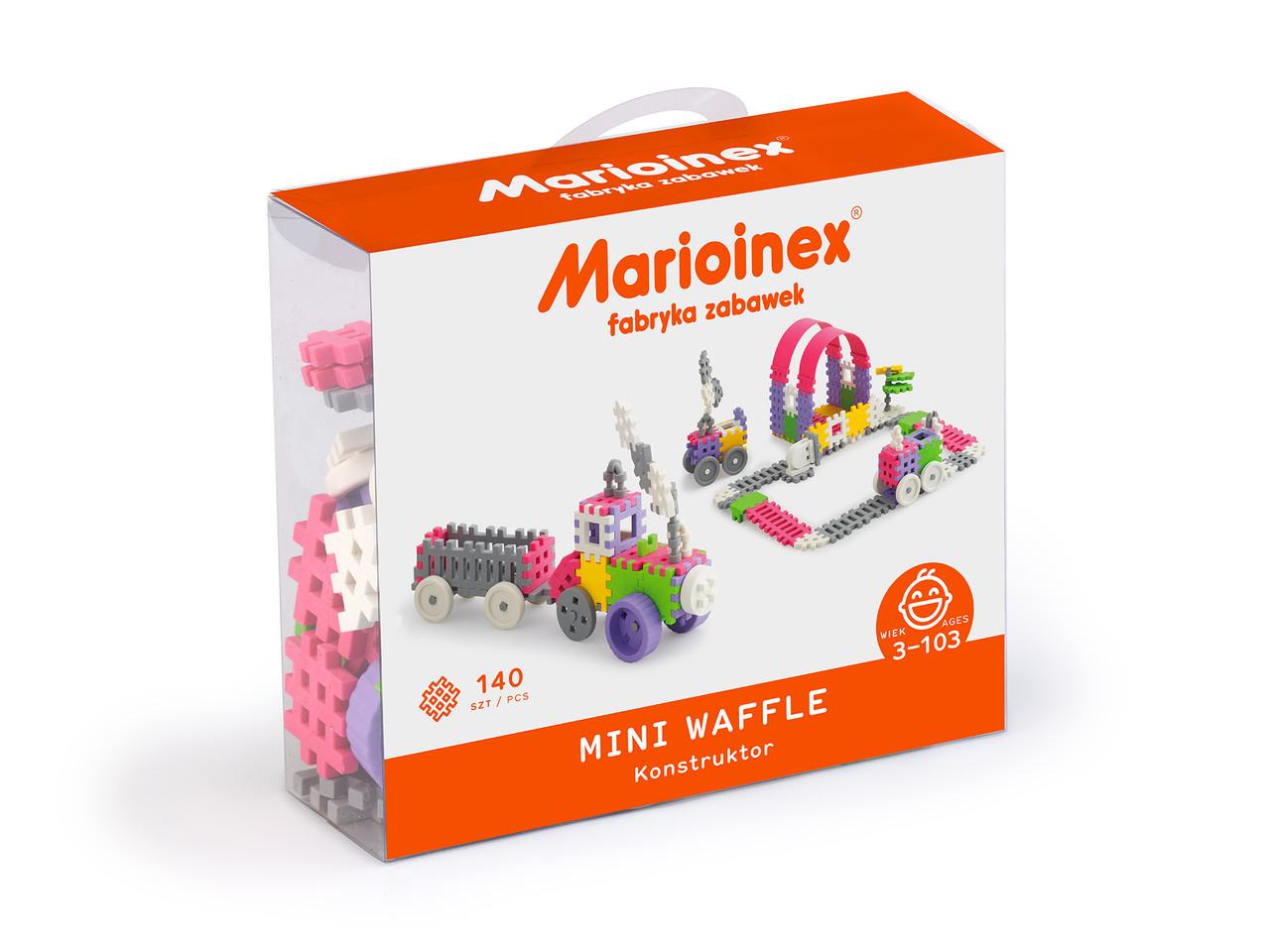 Мини вафли, конструктор для девочек Marioinex