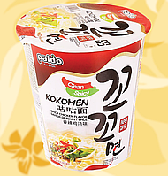 Локшина швидкого приготування зі смаком курки, Гостра, Spicy Chicken Noodles, Paldo, 65г, Ст