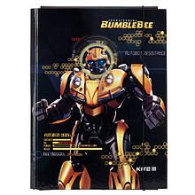 Папка для труда первоклассника на резинке Transformers А4