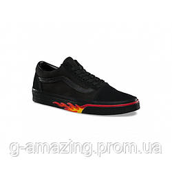 Кеды Vans Flame Wall Old Skool