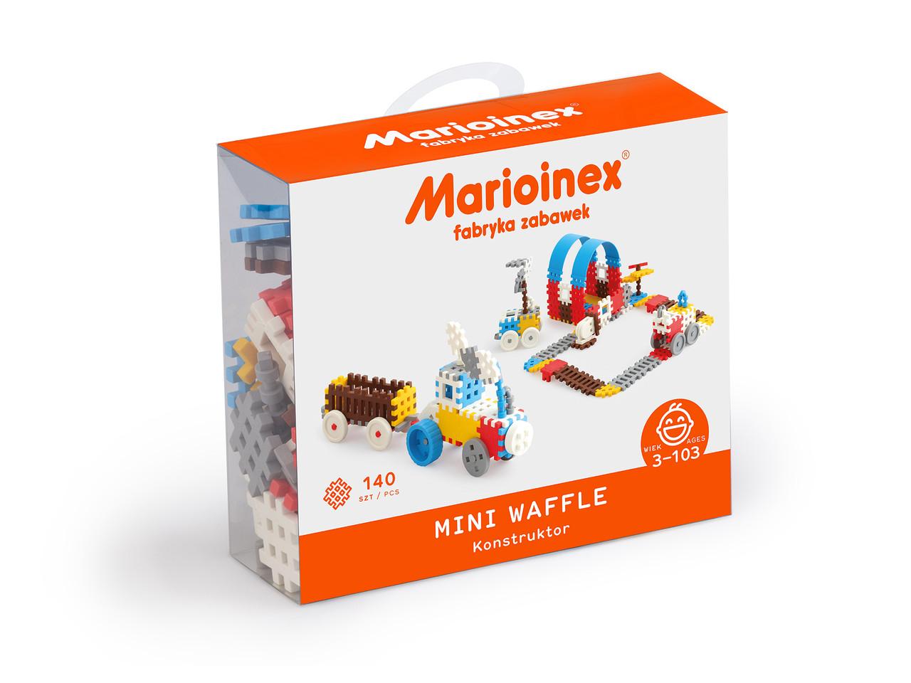 Мини вафли, конструктор для мальчиков Marioinex