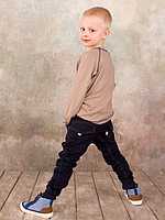 Реглан для мальчика бежевый