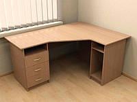 Стол угловой с 3-мя ящиками П-624