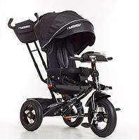 Трехколесный велосипед Turbo Trike M 4060-20 черный