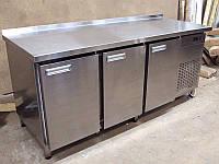 Стол холодильный с распашными дверями 3 дверный 1860*700*850мм