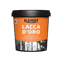 Лак Element Decor Lacca D'oro с эффектом золота 1л