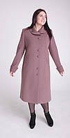 Пальто женское кашемировое Л-576 длинное- размеры 50, 52, ,60, фото 1