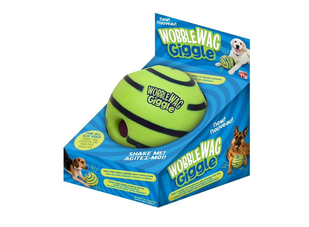 Игрушка для собак мяч хихикующий Wobble Wag Giggle XX