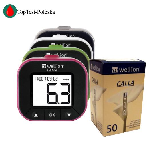 Глюкометр Wellion CALLA Light + 50 тест полосок