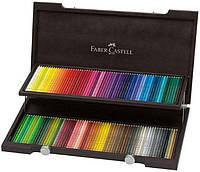 Цветные карандаши Faber Castell POLYCHROMOS 110013 в деревянной коробке (120 цв.)