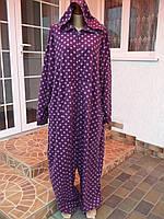 (58 / 62 р) Флисовый комбинезон пижама человечек кигуруми кігурумі Большой размер