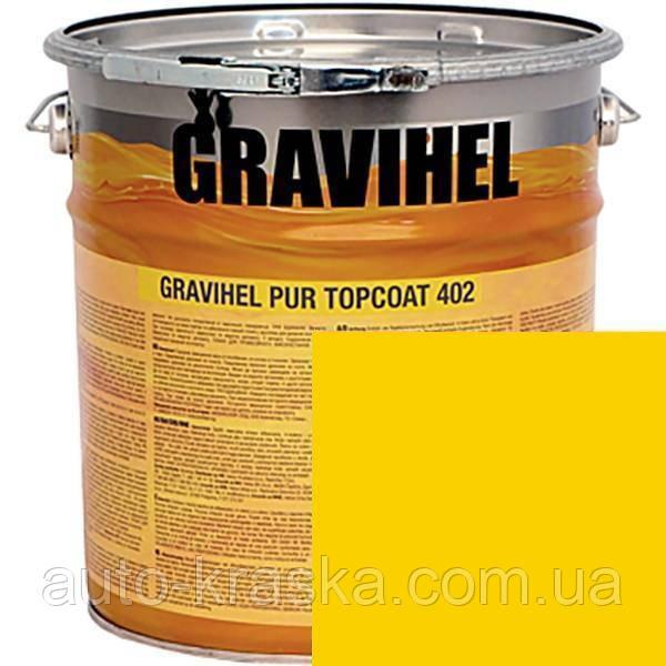 RAL 1023 GRAVIHEL полиуретановая эмаль 402-005 высокоглянцевая 1л