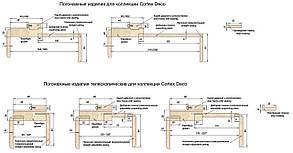 "Дверное полотно Cortex Deco 08 дуб Latte Line ""ПО-сатин"" ""Омис"", фото 2"