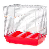 Клетка для Шиншиллы G077 CHINCHILLA 60 ZINC INTER-ZOO ( Интер-Зоо ) Польша