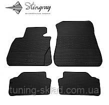 Гумові килимки BMW 3 (E90) 2005-2011 (БМВ 3) кількість 4 штуки