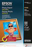 Бумага для фотопринтера Epson Glossy Photo Paper 100mmx150mm 500л (C13S042549)