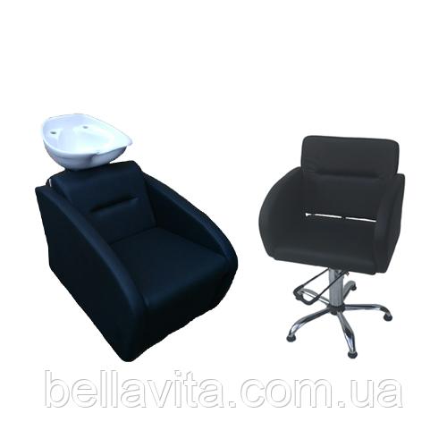 Комплект парикмахерской мебели Милано