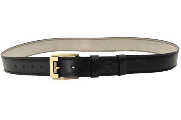 Ремень кожаный A-Line (Черный)