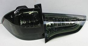 Mitsubishi Pajero Sport оптика задняя LED хром тонированная