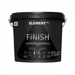 Шпаклевка Element Pro Finish 15кг