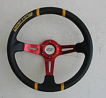 Руль ASP Drifting красный виниловый