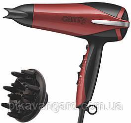 Фен для волос 2000 Вт, 3 уровня температуры, 2 скорости Camry CR 2241