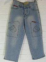 Капрі жіночі джинсові BigRay блакитні 26