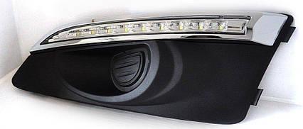 Chevrolet Aveo T300  дневные ходовые огни ( DRL)  , фото 2