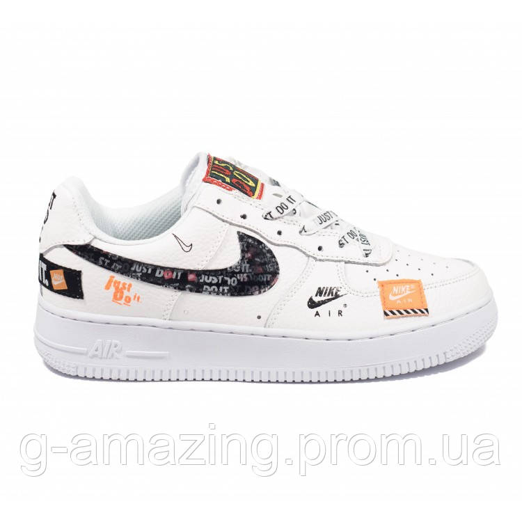 """Кроссовки Nike Air Force """"just Do It"""" White"""