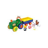 Игровой набор Трактор Фермера Kiddieland 049726