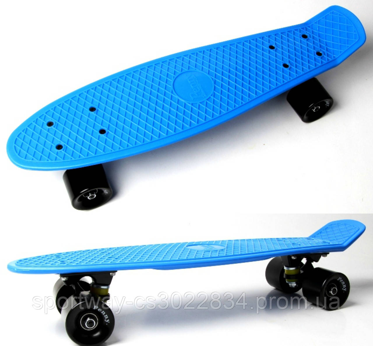 Penny Board. Classic. Blue.