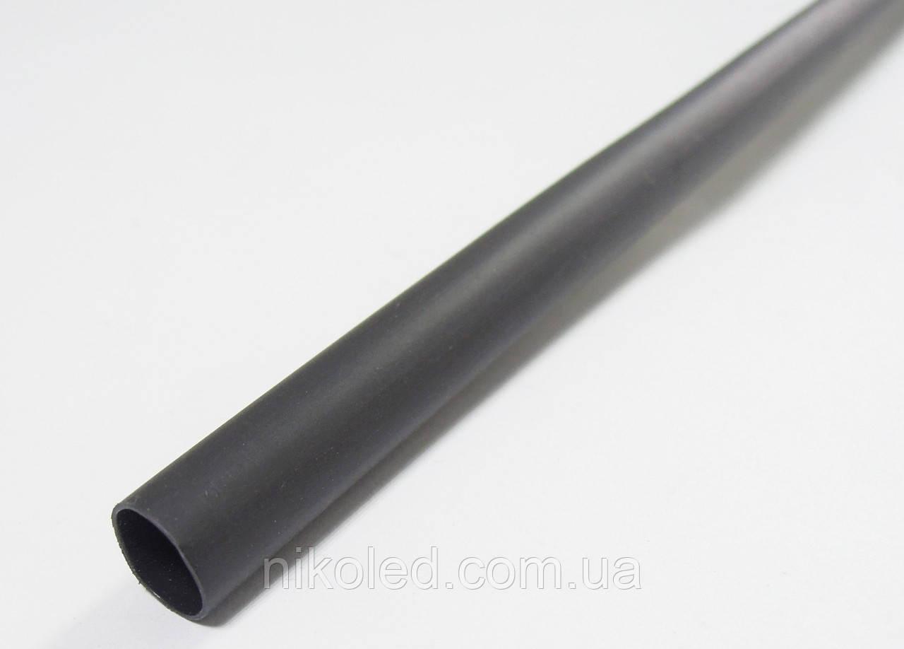 Термоусадочна трубка 6 / 3мм чорний 1м