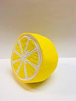 Мягкая игрушка антистресс Сквиши Squishy лимон