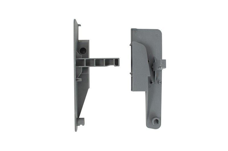 Внутрений Фасад Для LS BOX: Крепление Для Ящика С Одинар. Релингом H=153 Мм