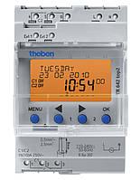 Реле времени цифровое (таймер), годовая или астрономическая программа, 2 канала TR 642 top2 Theben