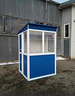 Пост охраны, сторожка, будка для стоянки, сторожевая кабина
