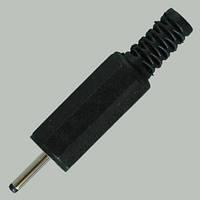 Штекер сетевой 3pin, под шнур, корпус пластик