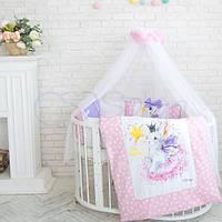 Детское постельное белье с балдахином Akvarel Фея для девочки