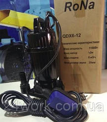 Дренажний насос Rona QDX 6-12