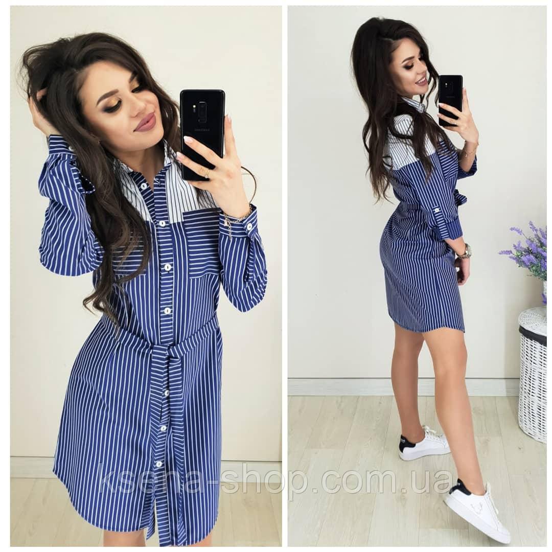 cee093daf2f Купить Женское платье-рубашка из льна в Одессе от компании
