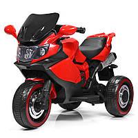 Детский мотоцикл М 3680L-3, красный Гарантия качества Быстрая доставка, фото 1