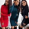 Нарядное платье-гольф sh-019 (42-50р, разные цвета), фото 3