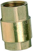 Клапан обратный подпружиненный Genebre (Испания) 3121 06 DN25 PN25 ДУ25 РУ25 (латунь)